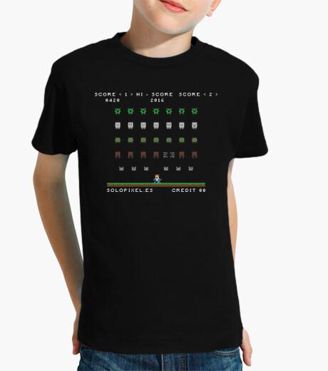 Ropa infantil Minecraft Invaders (NIÑOS)