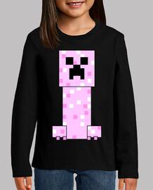 Minecraft PINK Creeper (BABY)