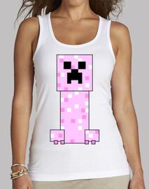 Minecraft PINK Creeper (MUJER)