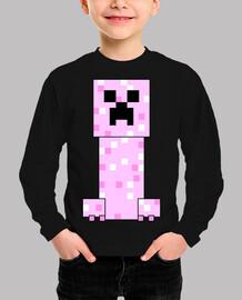 Minecraft PINK Creeper (NIÑA)
