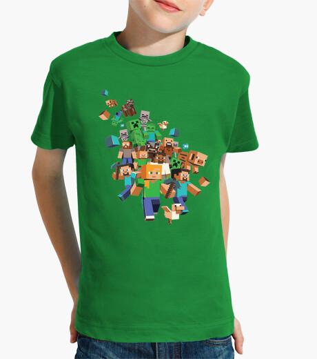 Abbigliamento bambino minecraft rissa (bambini)