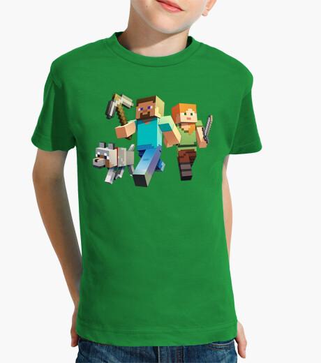Abbigliamento bambino minecraft rush (boy)