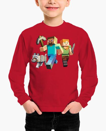 Ropa infantil Minecraft Rush (Niño invierno)