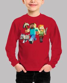 Minecraft Rush (Niño invierno)