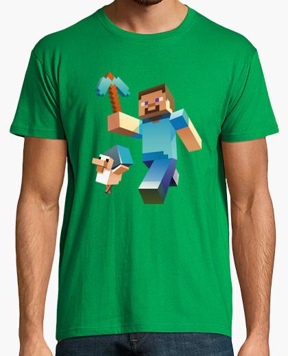 T-shirt minecraft steve