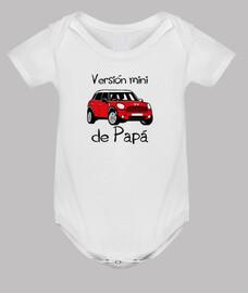 mini-version de papa (lettrage noir)