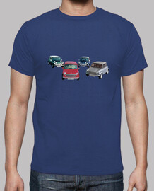 mini cars shirt guy