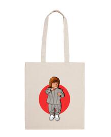 mini me tyrion - 100% cotton fabric bag