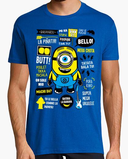 Camiseta Minion Citas Celebres