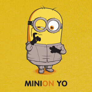 Camisetas Minion yo