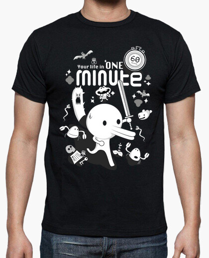 Minit - your life in one minute t-shirt