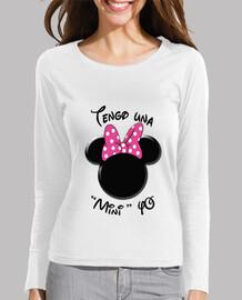 Minnie Yo Letras Negras