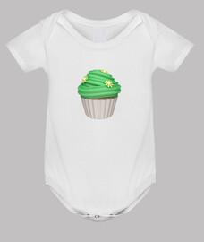 mint cupcake
