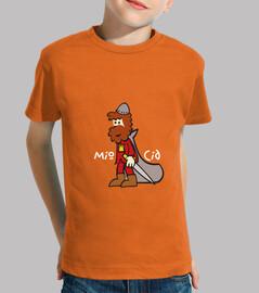 Mio Cid, caballero castellano Peque Naranja