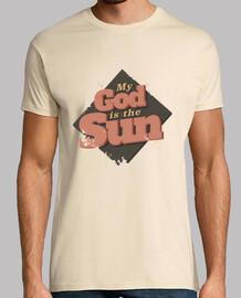 mio dio è il sun uomo camicia