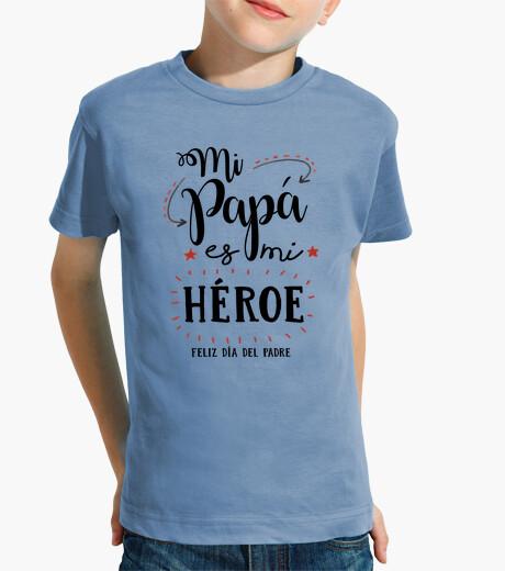 Abbigliamento bambino mio papà è il mio eroe
