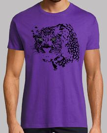 Mirada Leopardo Negro