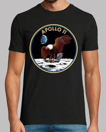 Misión Apollo 11 insignia
