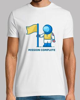 Mission abgeschlossen Astronaut