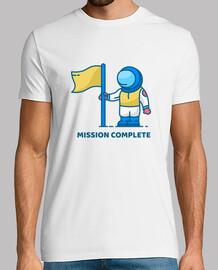 missione completa astronauta