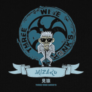 Camisetas Mizaru - Three Wise Monk's
