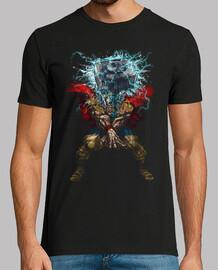 Mjolnir Attack! camiseta