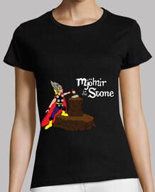 mjolnir en la piedra (cómic)