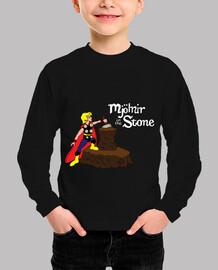 Mjolnir in the Stone (Comic)