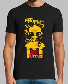 männer-t-shirt - atommassenmord
