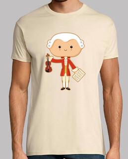 Männer, T-Shirt, creme, Top Qualität