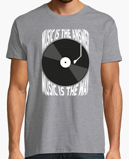 Männer, T-Shirt, grau meliert, Top Qualität