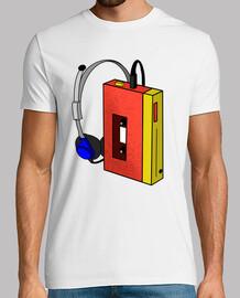 Männer, T-Shirt, weiß, Top Qualität