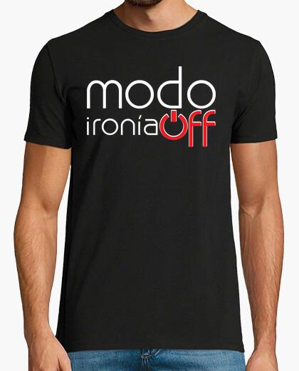 Tee-shirt mode hors de l'ironie