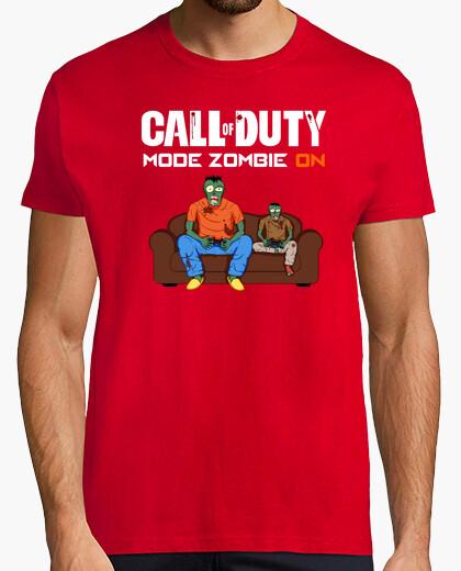 Tee-shirt Mode zombie activé
