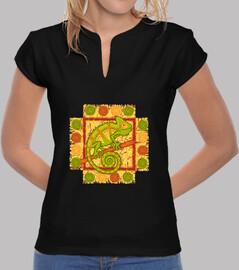 modèle de camaleon pistache