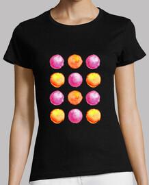 modelo jugoso de las esferas de la acuarela