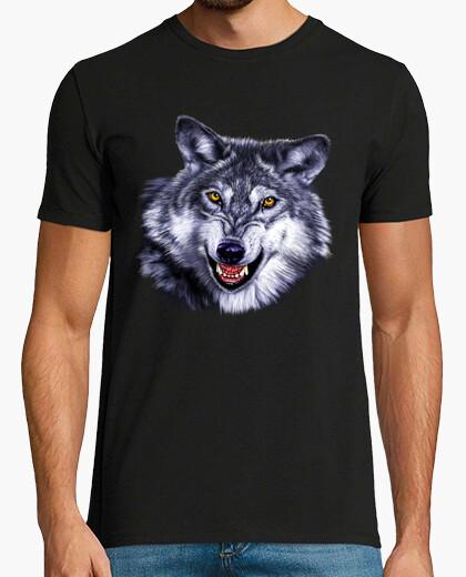 Camiseta Modelo Lobo