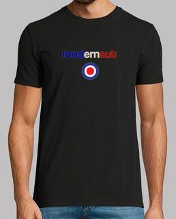 ModernAut target mod e font madchester - t-shirt uomo