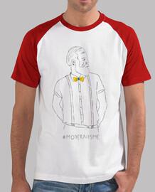 modernisme (antoni gaudi) - samarreta de baseball noi estil