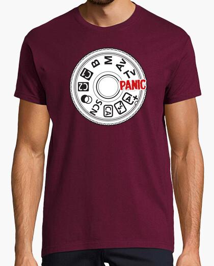 Camiseta Modo es P es modo Panico