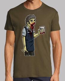 Moe Zombie  camisetas friki