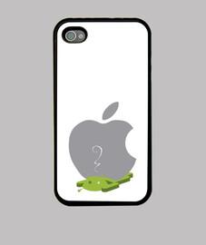 moi et mon portable sont pomme!