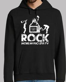 moins la télévision plus de musique - rock