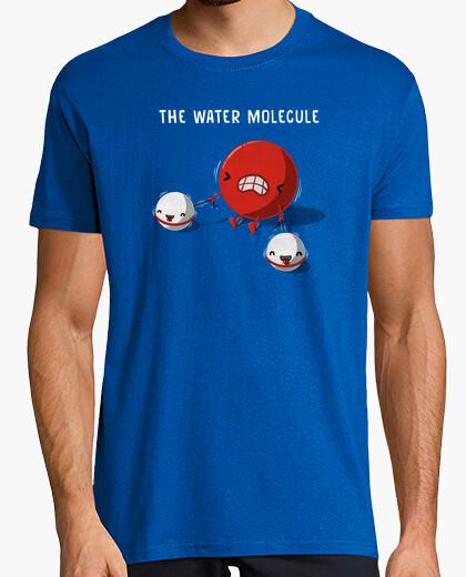 T-shirt molecola d39acqua