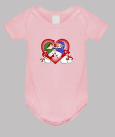 Molipuf Amor - Body Bebé