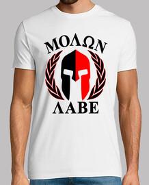 molon labe  T-shirt  mod.25