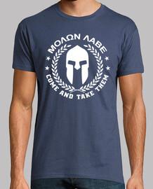 molon labe  T-shirt  mod.28