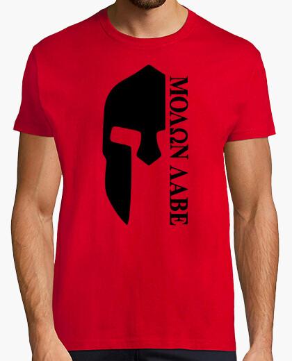 Tee-shirt molon labe  T-shirt  mod.32