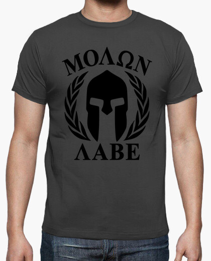 Molon labe shirt mod.23 t-shirt