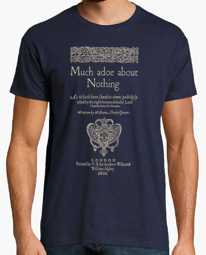 T-shirt molto rumore per nulla (t scure)